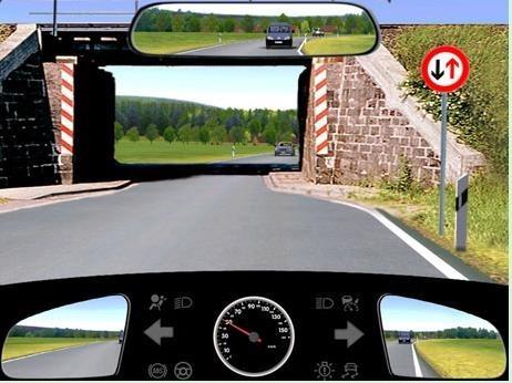 Hình 3-32: Lái xe qua chỗ hẹp