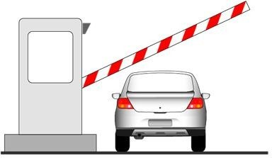 Hình 3-27: Cổng thu phí sử dụng dịch vụ đường bộ mở