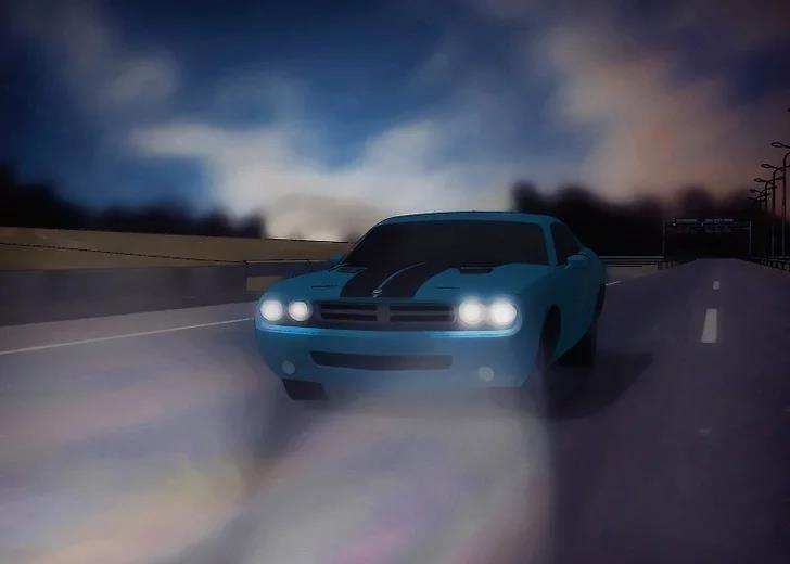 Hình 3-33: Lái xe ban đêm
