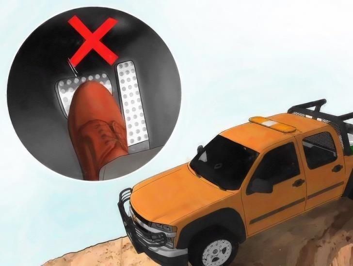 Hình 3-16: Không phanh gấp trên đường trơn