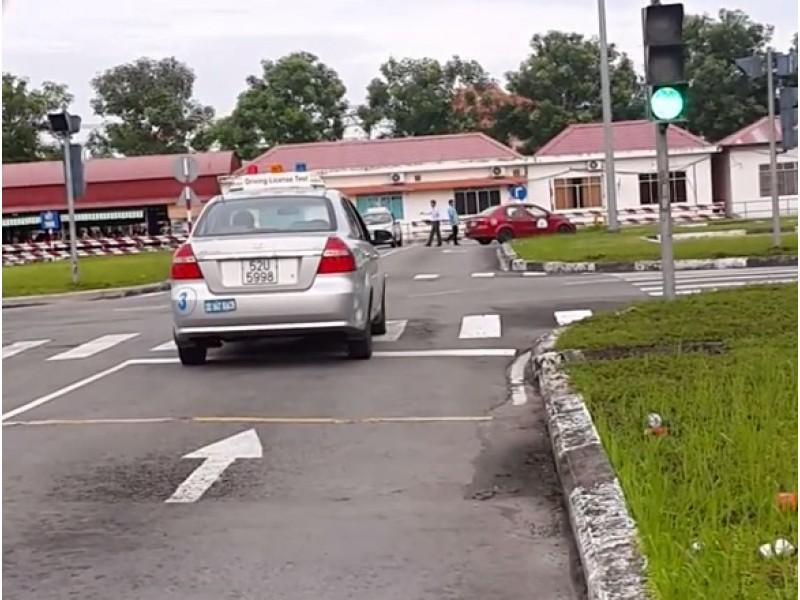 Quá trình khi học lái xe B2