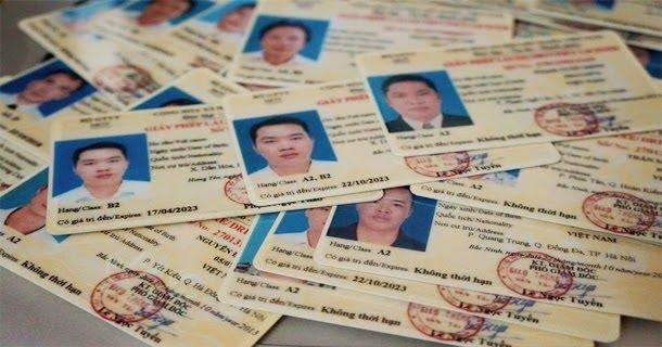 Thủ tục đăng ký học bằng lái xe b2