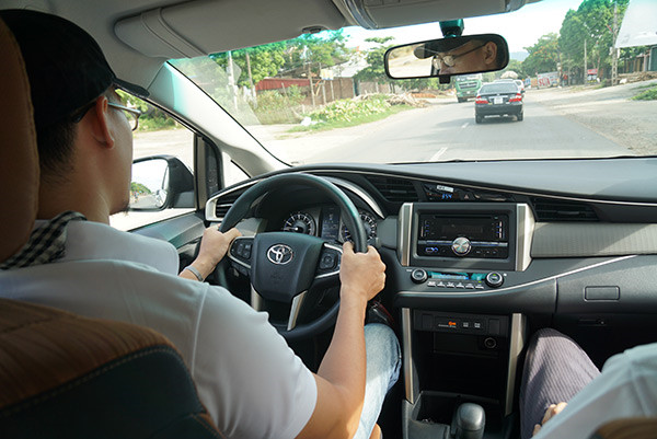 Bài học thực hành lái xe b2