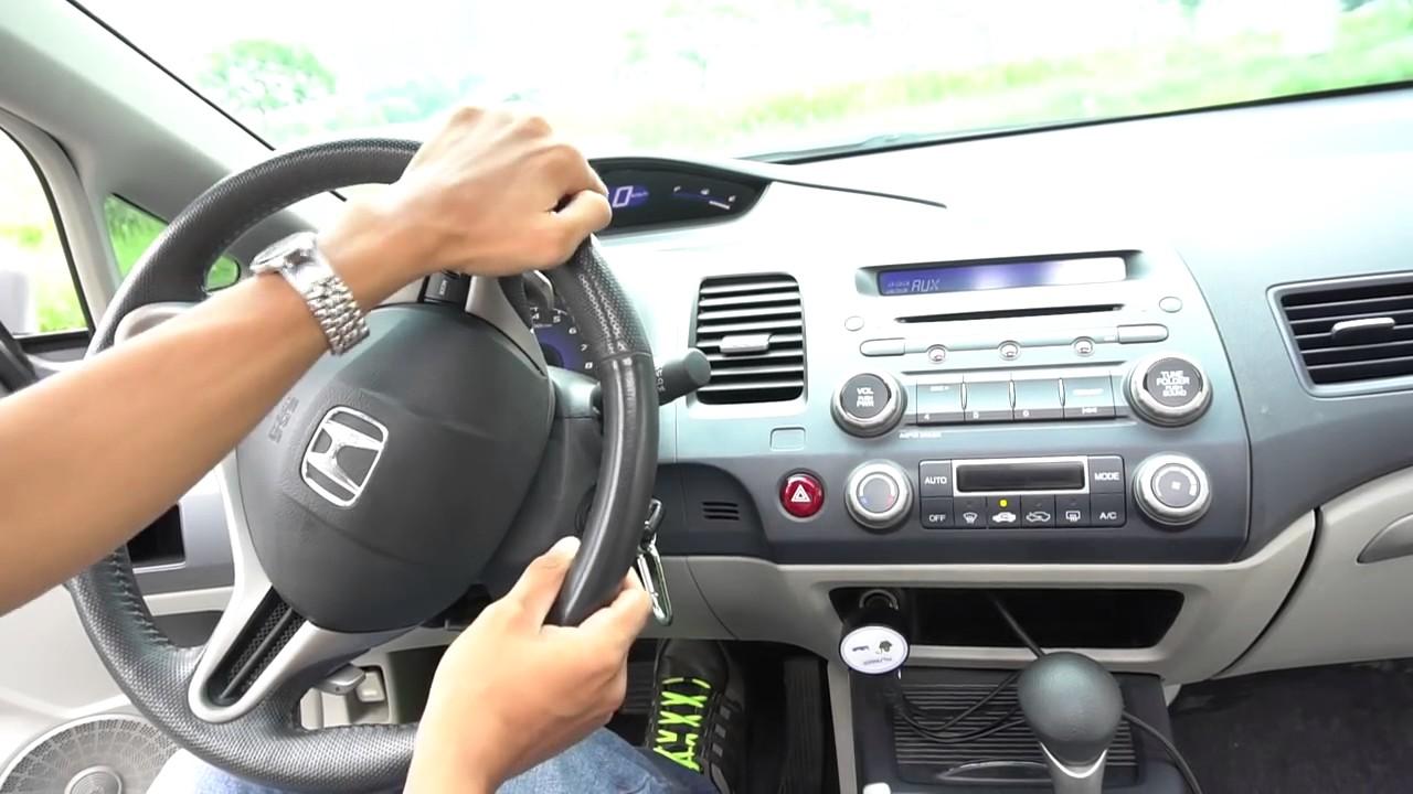 dạy lái xe số tự đông đơn giản