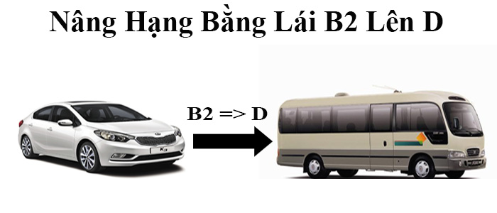 học phí nâng bằng b2 lên d