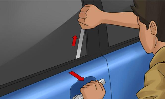 Cách mở cửa xe ô tô từ bên ngoài