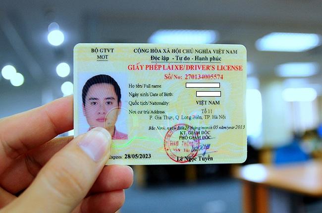đổi giấy phép lái xe online