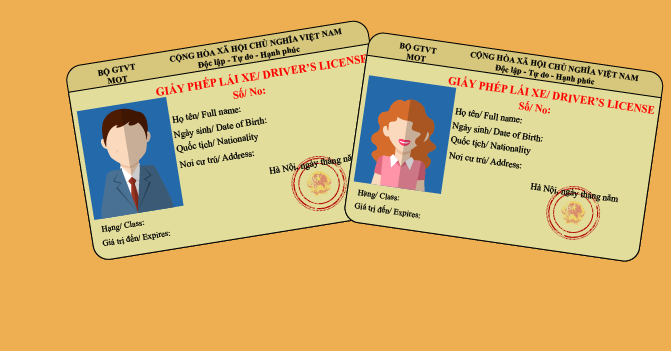 Hoàn tất thủ tục cấp đổi giấy phép lái xe online