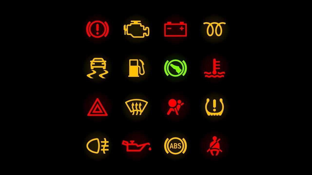 Ký hiệu đèn báo động cơ